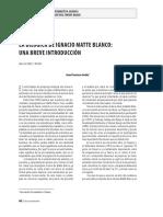 La Bilogica de Ignacio Matte Blanco Una Breve Introduccion