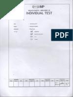 Test Guide - Pump Individual Test Guide - Filling Pump