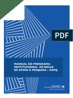 Manual de Atividades Do Edital Papq