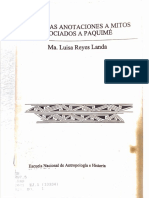 María Luisa Reyes Landa -Mitos Asociados a Paquimé