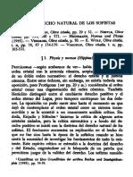 Derecho Natrual Sofisas