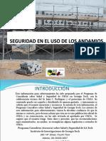 Seguridad en Andamios