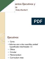 Documentos Ejecutivos y Técnicos