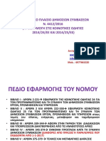 Neos Nomos Gia Dhmosies Symbaseis Lappa Evi
