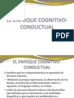 Cognitivo - Conductual