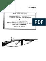 Manual de ametralladora thompson
