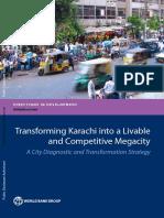 Transforming Karachi into a livable and competitive megacity