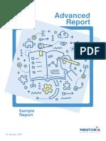 Sample Report - Mentoria