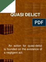 Quasi-Delict(January 6, 20180