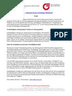 BVMW - Deutsches Forum Nachhaltiger Mittelstand