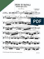 Pasculli Ricordo Di Napoli Oboe and Piano
