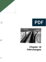 Ch.18 Interchanges(DM Manual)