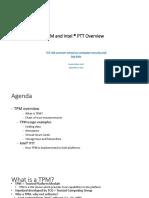 AK TPM Overview Technion