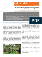 Uploads_Project - 20124_1487622607 - STAARS-Policy Brief-The Impact of Agriculture Technology Adoption on Farmers in East Africa_web Version