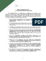 Affidavit of 2 Disinterested Persons_Late Registration MC