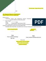 Format Surat Permohonan Kunjungan