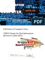 Presentation  on computer virus