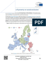 People at Risk of Poverty or Social Exclusion, 2018