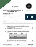 Past Papers March 2013 IOGC