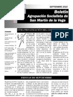 Boletín septiembre 2010