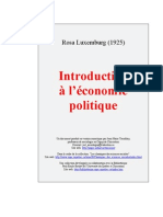 Introduction à l'économie politique