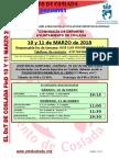DEPORTE   El DXT de Coslada. 10 y 11 de marzo de 2018
