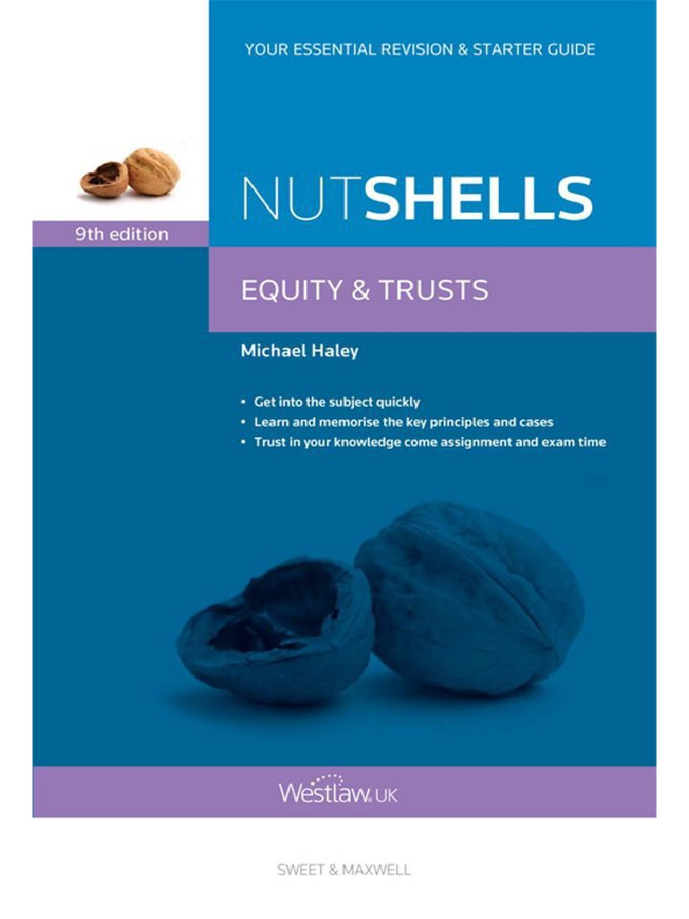 Nutshells Equity & Trusts - Michael Haley | Wills And Trusts