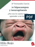 Entre Hipocampos y Neurogenesis - Rosa Ma Fernandez Garcia