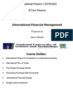 1. International Financial Environment