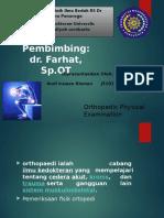 Tugas Orthopaedic Physical Examination