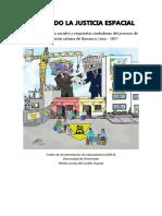 BUSCANDO LA JUSTICIA ESPACIAL- Conclusiones de la investigación por capítulo - Lorena del Castillo