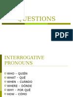 Questions Grupo d