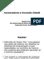 Hackerspaces e Inovação Cidadã