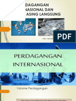 Perdagangan Internasional Dan Investasi Asing Langsung