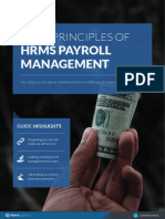 4 Key Principles of Hrms Payroll Management