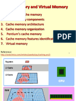 Cache&Virtual memory