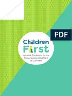 Children First National Guidance 2017