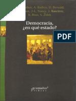 Democracia, En Qué Estado