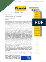 M. Serasevskij Et La Psych Analyse - Scienza e Psicoanalisi