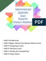 Materi Administrasi