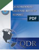Quadriennial Defense Review Report 2010