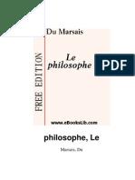 Le philosophe