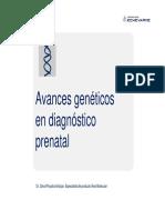 Echevarne Avances Geneticos Diag Prenatal 2013