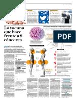 La Vacuna Que Hace Frente a 8 Cánceres