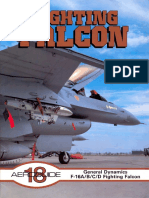 №18 General Dynamics F-16A,B,C,D Fighting Falcon