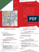 Programme de La Journee d Etudes 16 Et 17 Novembre 2017