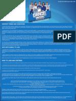 Dance Nation Promo Mechanics • Pocari Sweat