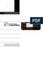 Icom IC-746 Pro Instruction Manual