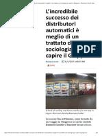 L'Incredibile Successo Dei Distributori Automatici è Meglio Di Un Trattato Di Sociologia Per Capire Il Giappone – Business Insider Italia