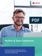 Perfion PIM & Sana Commerce zorgen ervoor dat uw  out-of-the-box webshop uit zijn voegen barst van de  waardevolle productinformatie